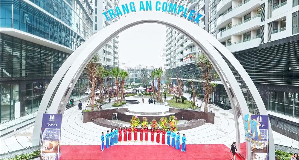 Tòa chung cư cao cấp Tràng An Complex