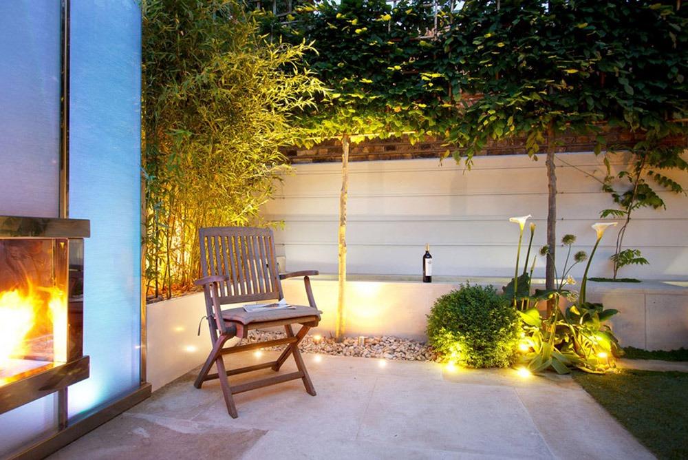 Sử dụng đèn chiếu sáng cho sân vườn - Mongarden