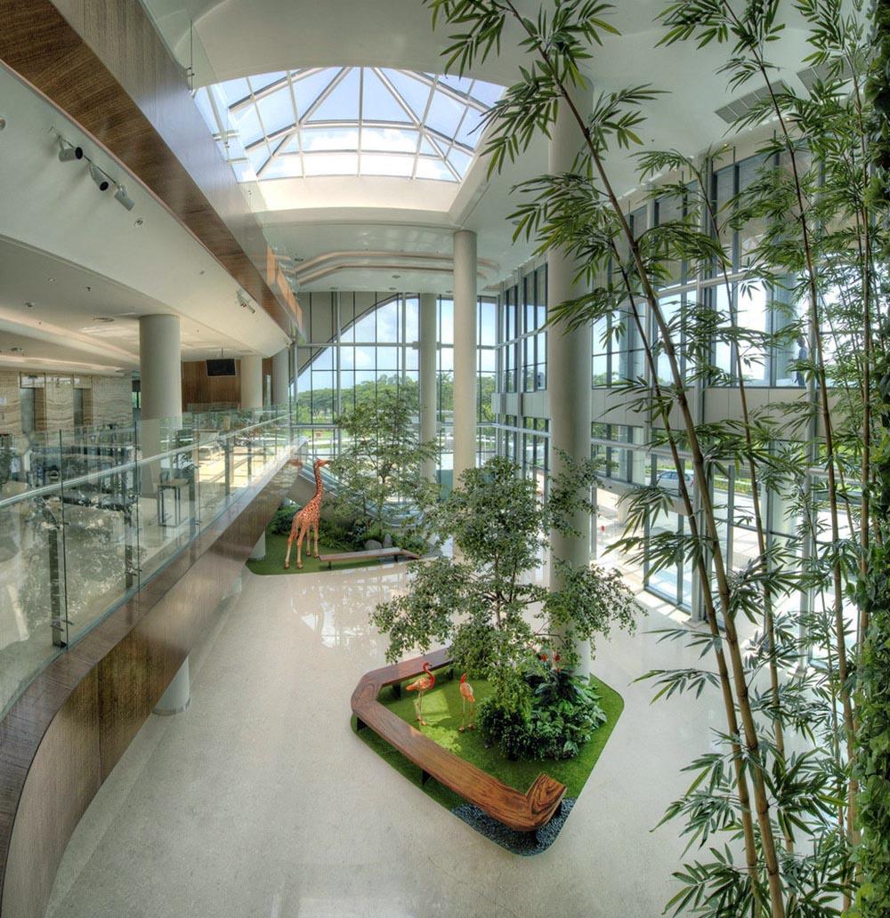 Không gian xanh cho nội thất văn phòng, sảnh chờ - Monagrden