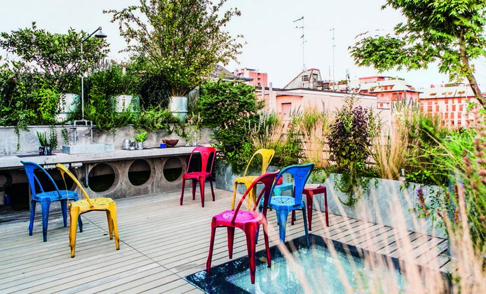 Vườn Archilabo, Milan thiết kế bởi Cristina Mazzucchelli
