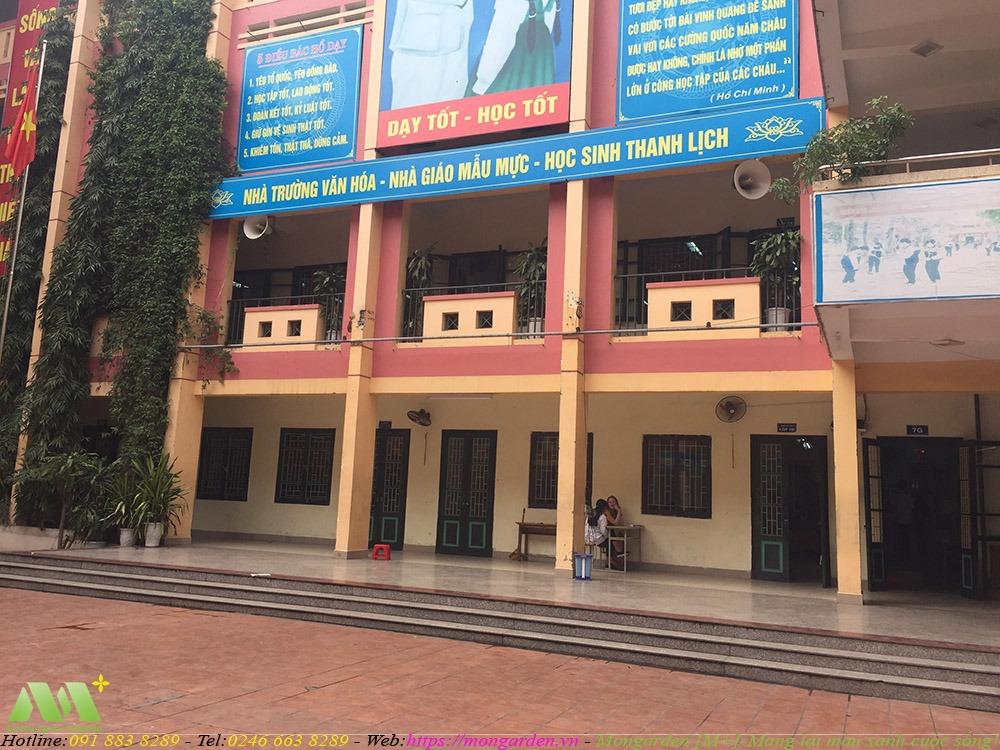Hiện trạng trường THCS Quỳnh Mai, Hà Nội
