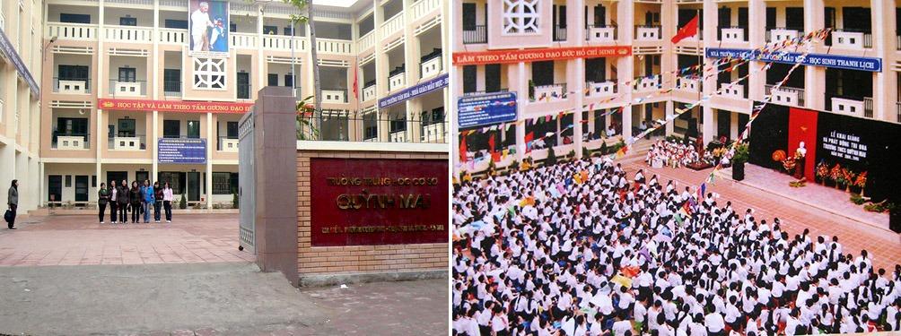 Trường THCS Quỳnh Mai, Hà Nội