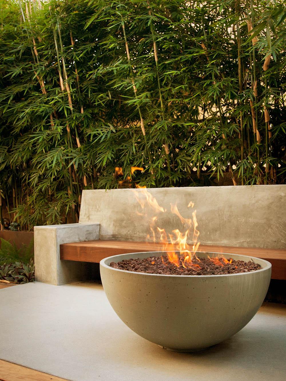 Bếp sưởi, lò nướng BBQ trong thiết kế sân vườn - Mongarden