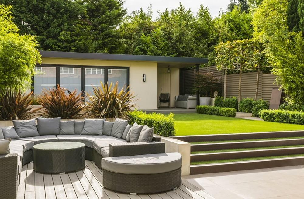 Thiết kế sân vườn hiện đại - Mongarden