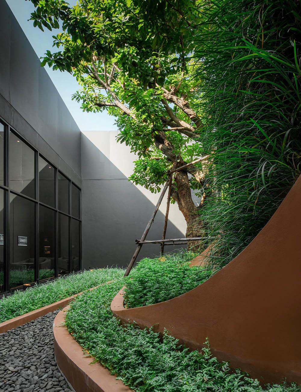 Thiết kế thi công sân vườn cho phòng chờ cực chất - MongardenThiết kế thi công sân vườn cho phòng chờ cực chất - Mongarden