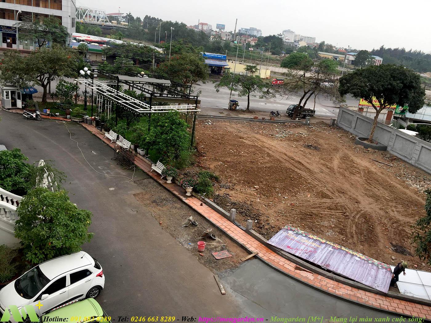 Hiện trạng cảnh quan nhà hàng Hương Cảng BANQUYET