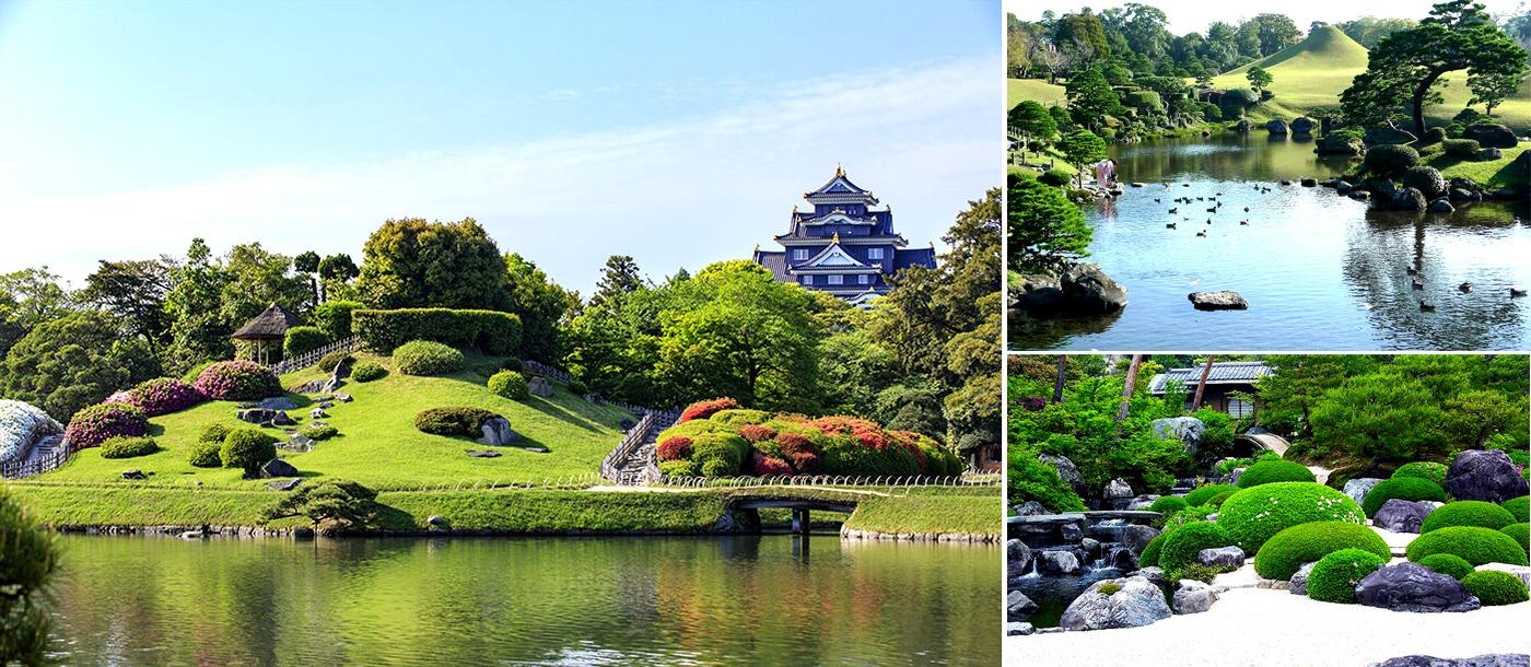 Thể loại vườn Nguyệt Sơn - Hòn Non Bộ ( Tsukiyama ) trong phong cách vườn Nhật Bản