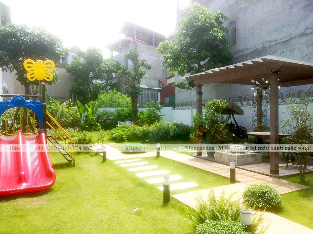 Hướng dẫn cách chăm sóc sân vườn